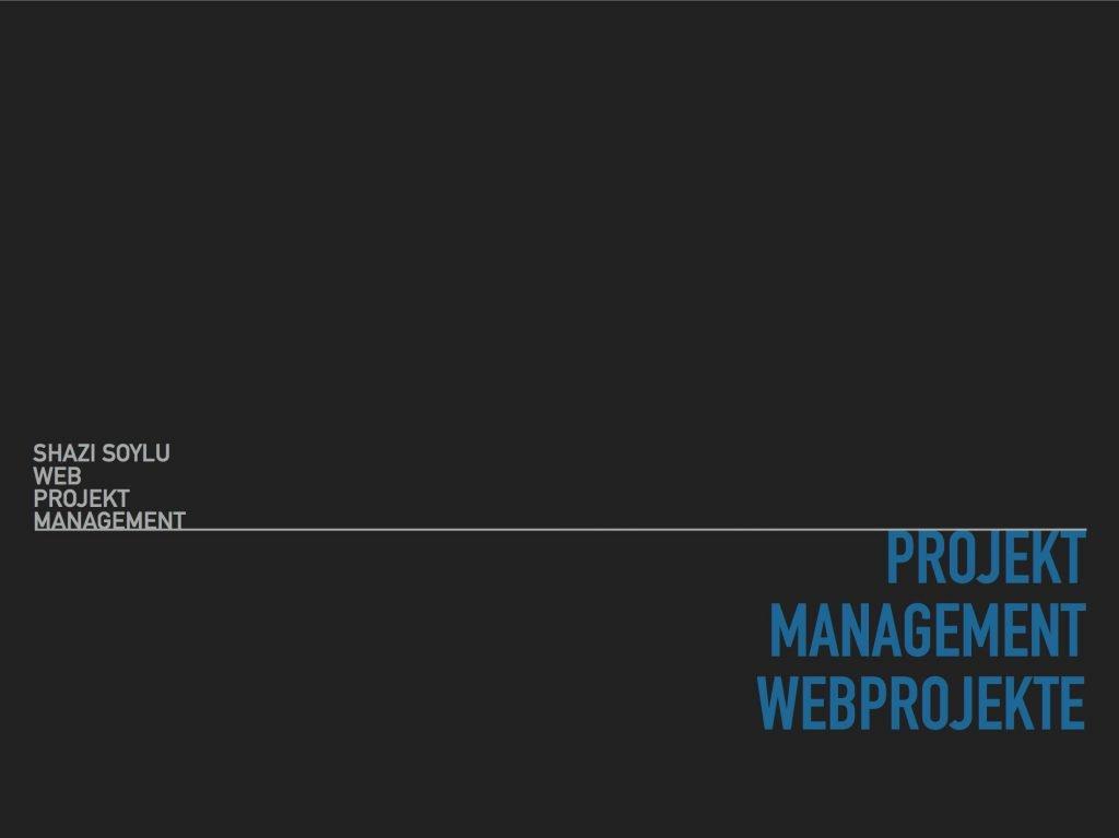 Cover: Projektmanagment für Webprojekte von Shazimet Soylu